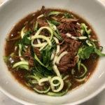 Low carb beef ramen noodles