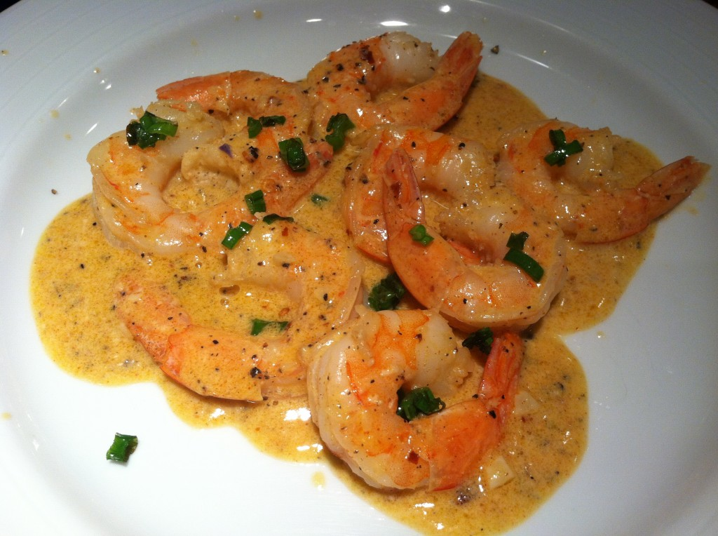 Amazing Shrimp in Garlic Cream Sauce