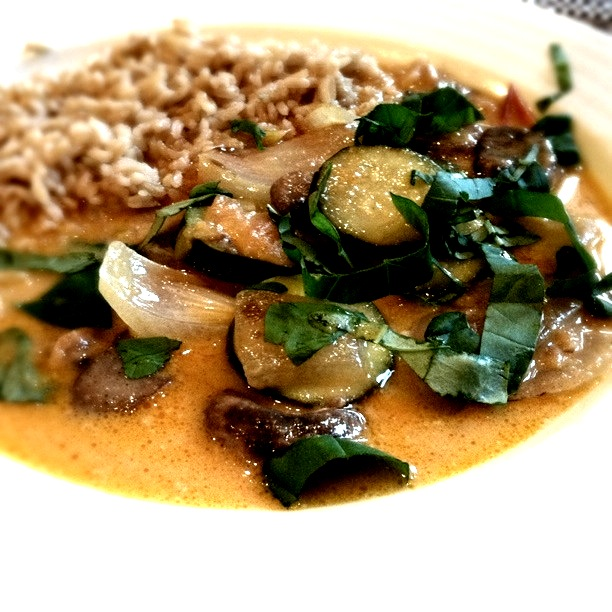 Red Curry with Vegatables